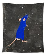 Blue Mouse Tapestry