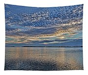 Blue Persuasion Tapestry