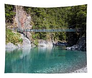 Blue Pools New Zealand Tapestry