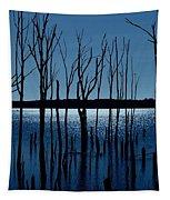 Blue Reservoir - Manasquan Reservoir Tapestry