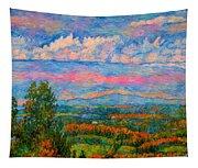 Blue Ridge Cloud Burst Tapestry