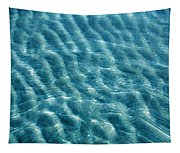 Blue Ripples Tapestry