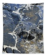 Blue Rock One Tapestry