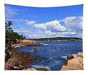 Blue Skies In Maine Tapestry