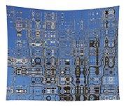 Blue Sky Quilt Tapestry
