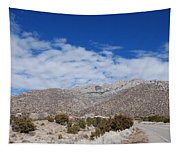 Blue Skys Over The Sandias Tapestry