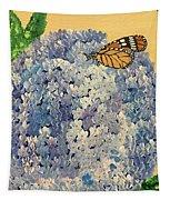 Blue Splendor Tapestry