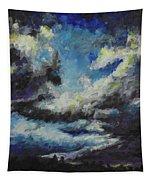Blue Tempest Tapestry