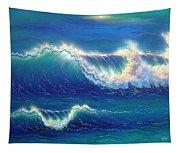 Blue Thunder Tapestry