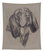 Blue Tick Coonhound Tapestry