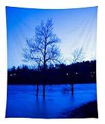 Blue Tide Tapestry