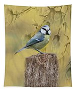 Blue Tit Bird II Tapestry