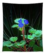 Blue Trio Tapestry