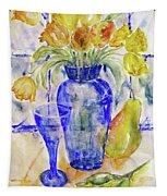 Blue Vase Tapestry