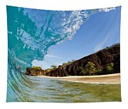 Blue Wave - Makena Beach Tapestry