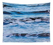 Blue Waves Tapestry