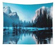Blue Winter Fantasy. L B Tapestry