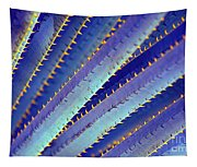 Blue Yucca Tapestry