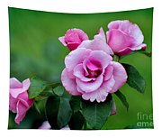 Blueberry Hill Roses Tapestry