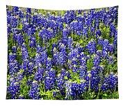 Bluebonnet Blues Tapestry