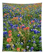 Bluebonnets And Paintbrushes 3 - Texas Tapestry