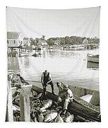Bluefin Tuna At Barnstable Harbor Tapestry