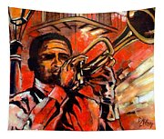 Blues On Bourbon Street Tapestry