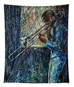 Bluesy Morning Tapestry