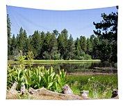 Bluff Lake Foliage 5 Tapestry