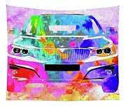 Bmw 3 Gran Turismo Tapestry