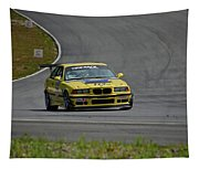 Bmw M3 Tire Rack Tapestry