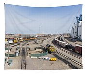 Bnsf Northtown Yard 4 Tapestry