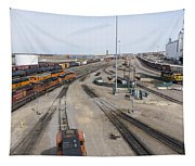 Bnsf Northtown Yard 6 Tapestry
