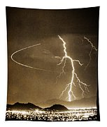 Bo Trek Lightning Art Tapestry