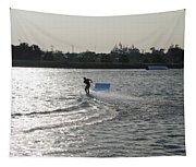 Board Jump Tapestry