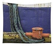 Boat Detail Husavik Iceland 3701 Tapestry