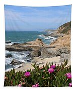 View From Bodega Head In Bodega Bay Ca  Tapestry by Christy Pooschke