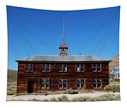 Bodie Schoolhouse 1 Tapestry