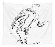Body In Motion Tapestry