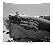 Boeing B-17g Flying Fortress Nose Art Tapestry