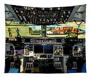 Boeing C-17 Globemaster IIi Cockpit Tapestry