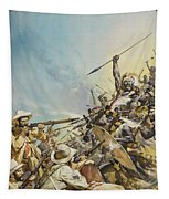 Boers Fighting Natives Tapestry