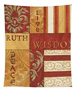 Bohemian Red Spice 2 Tapestry