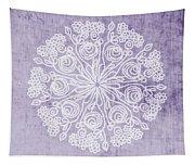 Boho Floral Mandala 1- Art By Linda Woods Tapestry