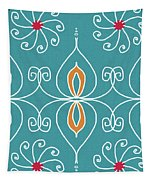 Boho Ornamental 3- Art By Linda Woods Tapestry