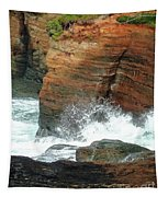 Boiler Bay Waves Tapestry