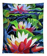 Bold Lilypads Tapestry