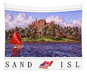 Boldt's Castle Poster Tapestry
