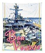 Bon Voyage Cruise Tapestry