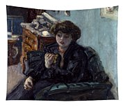 Bonnard: Lady, 19th C Tapestry